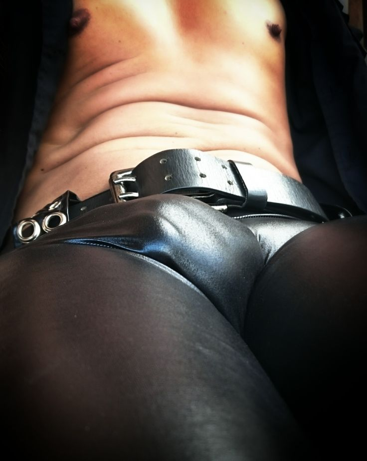 Tight Leather Panties 79