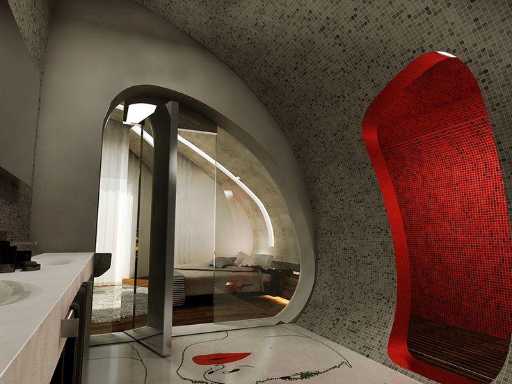 Futuristic Luxurious Bathrooms: 205 Best Futuristic Bathrooms Images On Pinterest