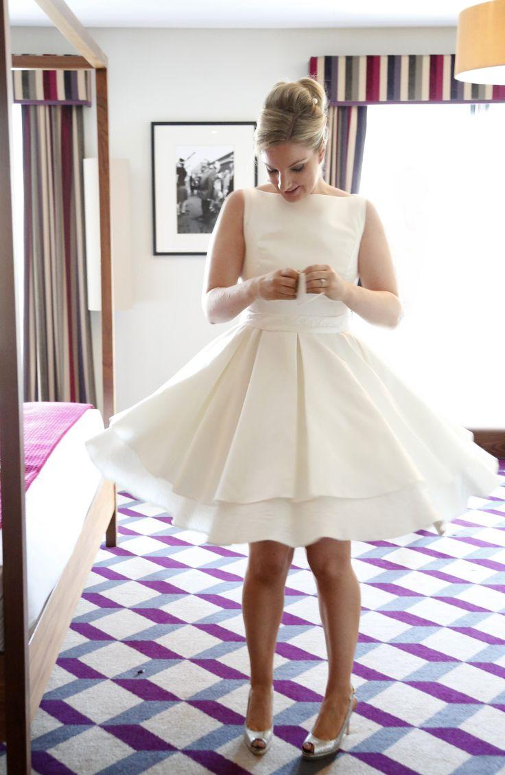 Short Wedding Dresses, Tea Length Wedding Dresses, Real Happy Brides – Tobi Hannah