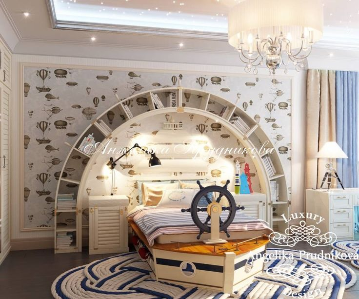 Дизайн детской комнаты для мальчика. 35 фото. Интерьеры детских комнат для мальчиков и подростков в классическом и современном стиле из фотогалереи дизайнера Анжелики Прудниковой (г. Москва).