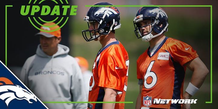 Mark Sanchez = QB1  Trevor Siemian = Also QB1    There's a tie atop the Denver Broncos current QB depth chart.