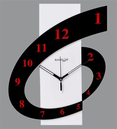 Random Six 'O' Clock Wall Clock by Random Online - Contemporary Clocks - Home Decor - Pepperfry ...