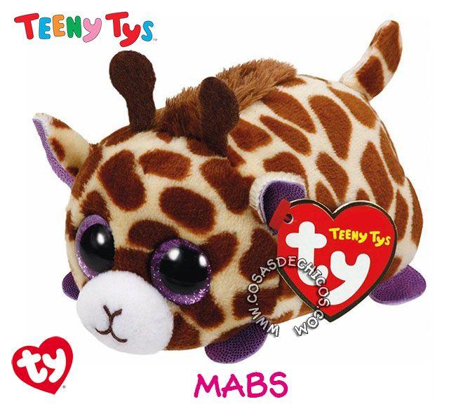 #Nuevos #Peluches #TeenyTys #Originales #TY  #Importados.  Irresistibles y adorables peluches Teeny Tys. Super suavecitos. Con enormes ojos brillantes. Medida: 9 cm. Coleccionalos!  Importador oficial: #Wabro.  #CosasDeChicos #Mabs #Jirafa #Giraffe #Teeny #Tys