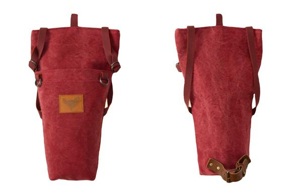 "Summer 2014 - ""Urban Nomads"" - SAMI - the saddle bag - DARK RED - Blind Chic."