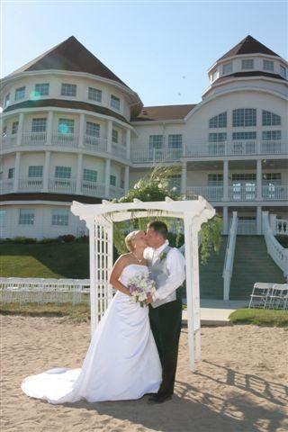 Blue Harbor Resort Sheboygan Wi Fun Beach Weddings Overlooking Lake Michigan Gorgeous