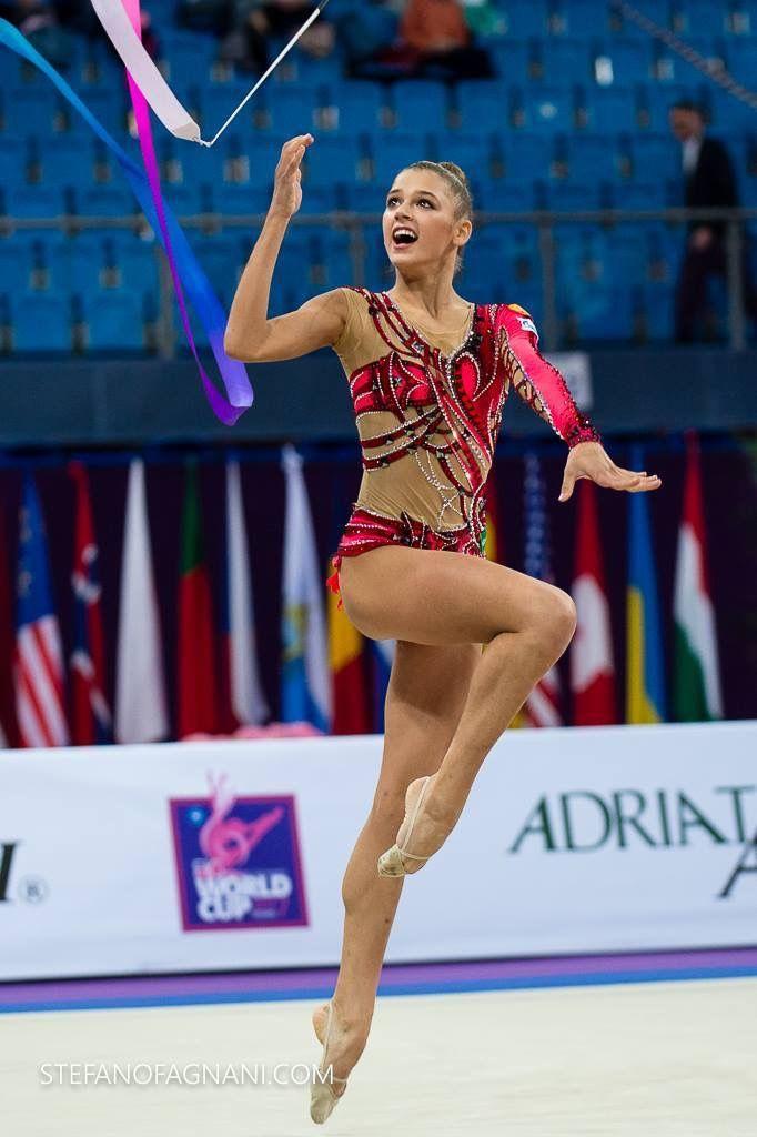 Alexandra SOLDATOVA (Russia)🇷🇺 ~ Ribbon @ World Cup Pesaro-Italy🇮🇹 04/'17 😘😘 📸 Stefanofagnani.com