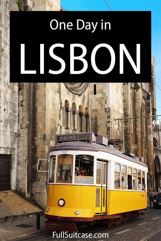 How To See The Best Of Lisbon In One Day Map Itinerary Tips Europe Travel Photos Europe Trip Itinerary Venice Italy Travel
