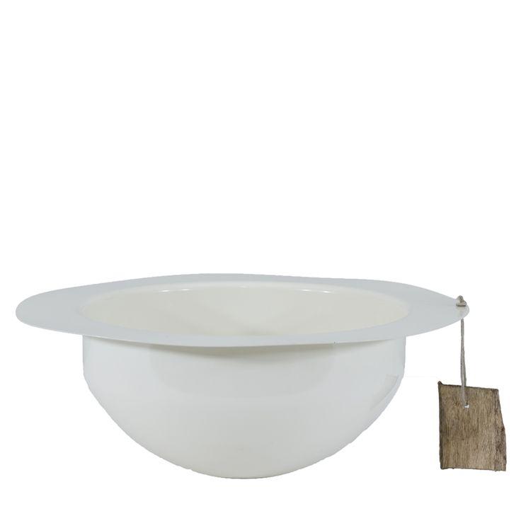 Steel white bowl Gie El