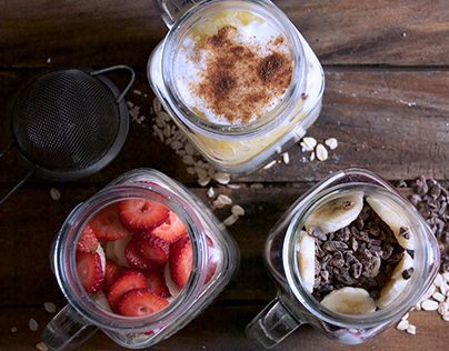 """Check out new work on my @Behance portfolio: """"Overnight Oatmeals"""" http://be.net/gallery/40238897/Overnight-Oatmeals"""