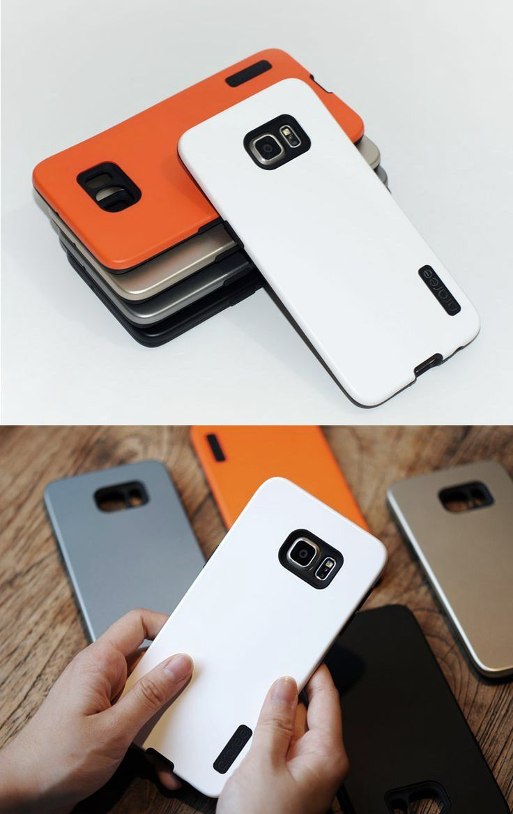 [ARAREE] Amy Cell Phone Case for Samsung Galaxy S6 Edge Plus.  - Dual layer style with 5 different colors (White, Orange, Gold, Silver, Black)  http://www.amazon.com/dp/B013OURRVW