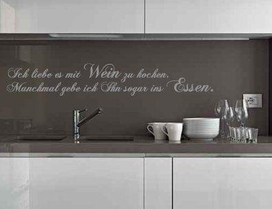 7 best Wandtattoos für die Küche images on Pinterest Kitchen - küchen wandtattoo sprüche