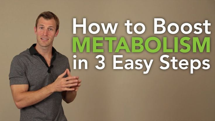 How to Boost Your Metabolism in 3 Easy Steps