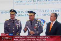 PN Apresa Dos Venezolanos Presuntamente Implicados En Atraco Ex Ministro De Obras Publicas #Video