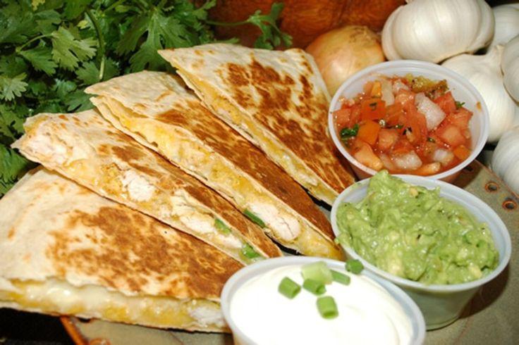 original mexican food   Chicken Quesadilla