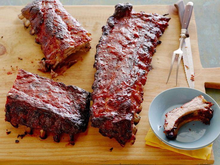 Barbecued Pork Ribs recipe from Trisha Yearwood via Food Network