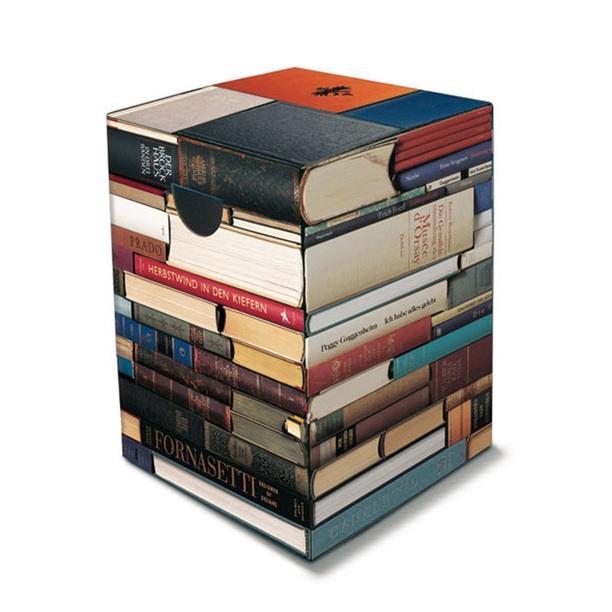 Papphocker Bücherwurm design inspiration on Fab.
