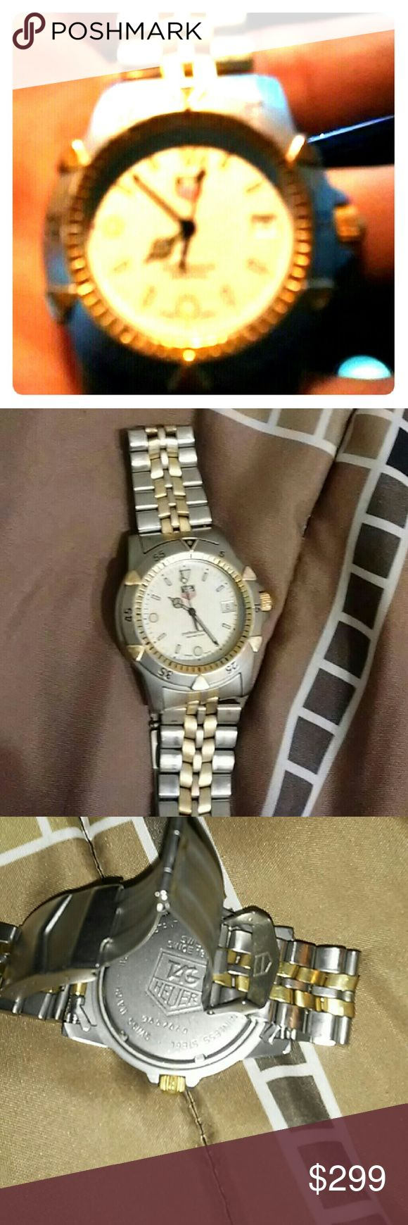 Tag heuer watch. 2 tone stainless . Good condition Professional 200 meter Tag Heuer Accessories Jewelry