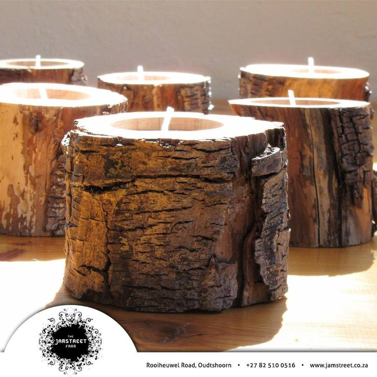 This week we are changing Throwback Thursday slightly by bringing a DIY idea which takes you back to nature. Why not make your own candles from old branch off cuts? What do you think of this idea? #gogreen #recycle #jamstreet