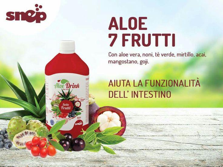 Intestino pigro? Con Sette Frutti Aloe Drink potrete aiutare la regolare funzionalità intestinale, grazie all'apporto di fibre di Aloe e Acai.