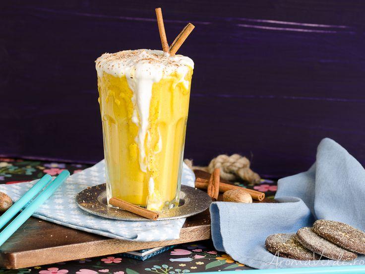 Smoothie cu dovleac și cocos