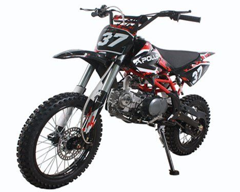 Apollo Precision Tools AGB 37 125cc Big Size Dirt Bike with 17-Inch Tires $745.00