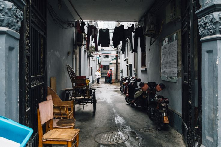 Shanghai Alleys