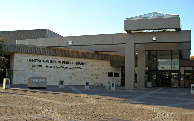 Huntington beach public library library in huntington