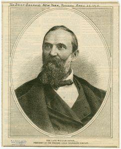 William Orton, in Chronica