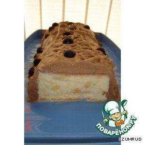 Ананасовый торт-мороженое