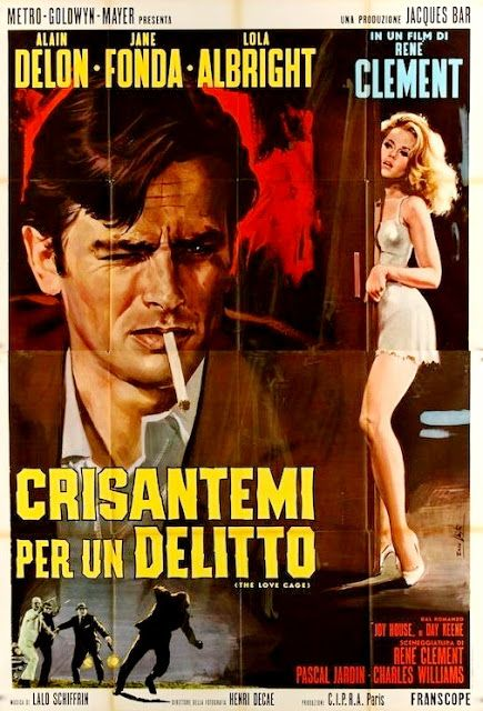 CARTELES DEL CINEMA: LOS FELINOS - Les félins - 1964 - René Clément
