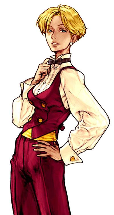 King (Capcom vs SNK 2: Mark of the Millennium 2001) - Artist: Kinu Nishimura