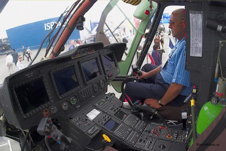 Inside HAL Dhruv Cockpit