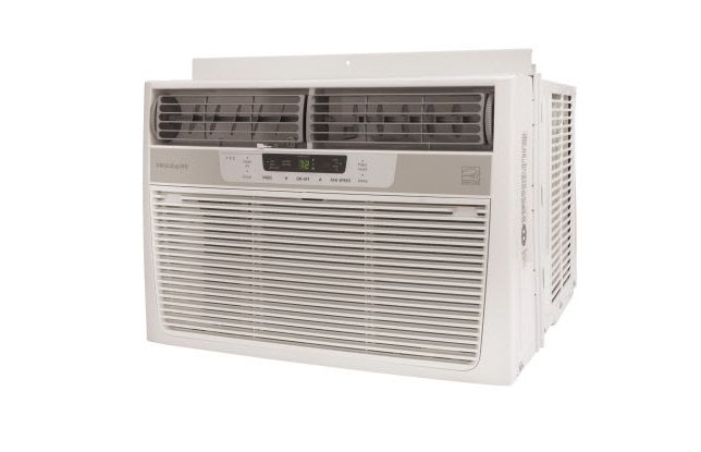 The $239 Frigidaire FRA086AT7 proved to be the best window air conditioner for cooling a smallish room, thanks to its excellent balance of price, cooling power, features and relatively quiet operation.  If you've got a medium to large space you should think about stepping up to the Frigidaire FRA126CT1 12,000 BTU Air Conditioner. It'll keep a space up to 550 square feet cool for $365.