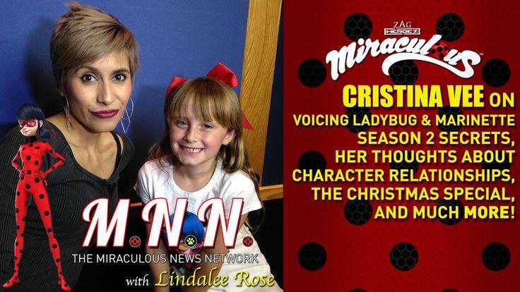 Cristina Vee (Ladybug) & Lindalee talk Miraculous - *Spoilers* (MNN) Ep.3