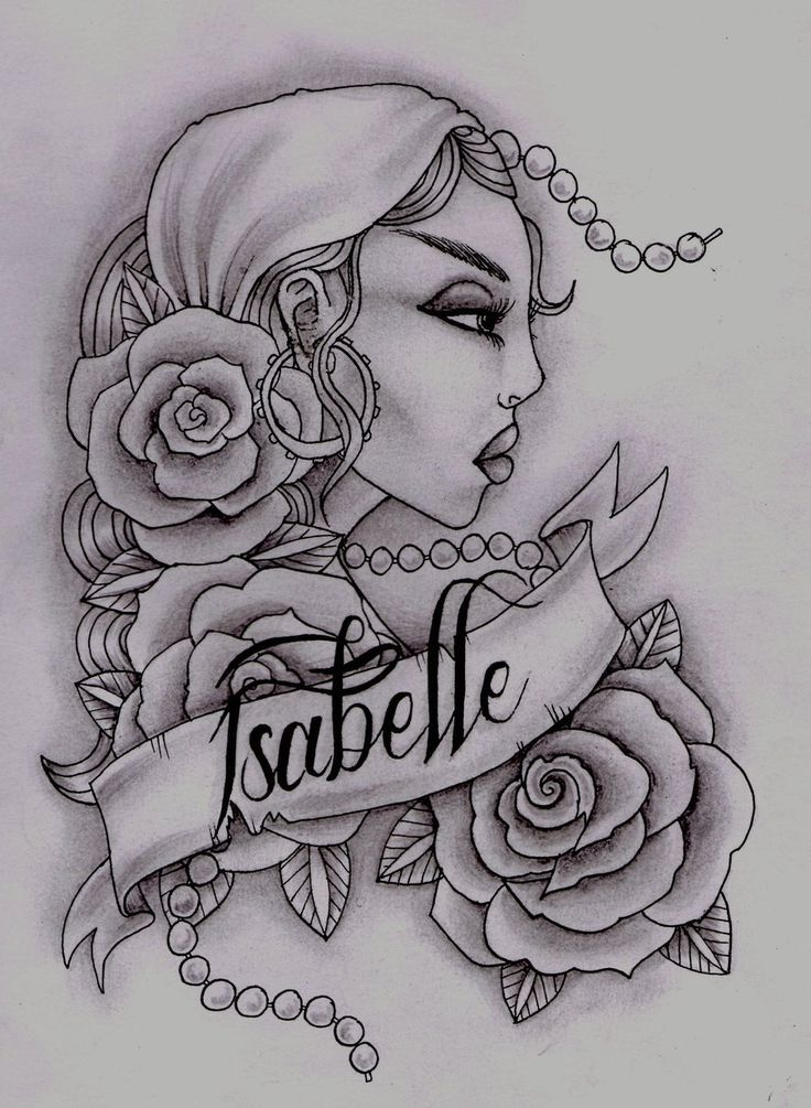 the 25 best gypsy girl tattoos ideas on pinterest gypsy drawing gypsy tattoo sleeve and. Black Bedroom Furniture Sets. Home Design Ideas