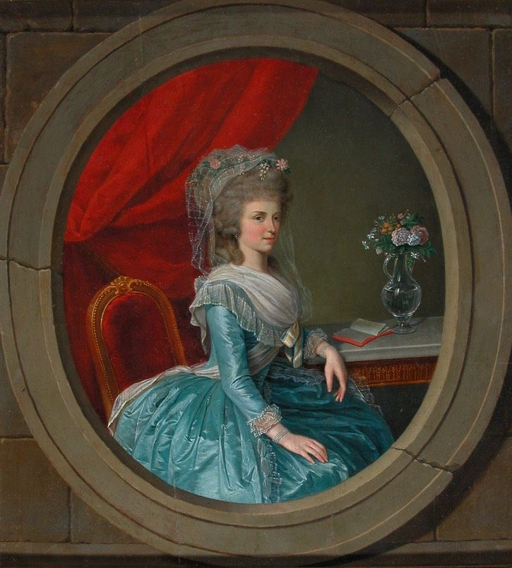 1782 1787 Maria Therese Archduchess Of Tuscany By William Berczy Location From Histo 18th Century Paintings Fashion History Timeline Contemporary Portrait