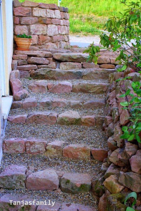 Gartentreppe Sandstein