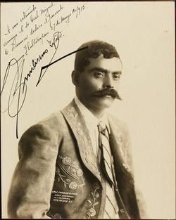 Emiliano Zapata. Général Révolution mexicaine (1879-1919)