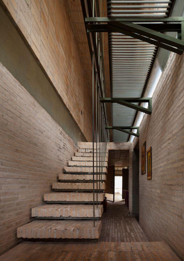 Ziegelarchitektur, Architektur Innenarchitektur, Zeitgenössische  Architektur, Interior Design Magazine, Haus Innenarchitektur,  Innendekoration, Treppe, ...