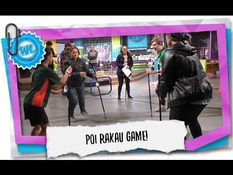 Traditional Maori Game - Poi Rakau! | What Now - YouTube