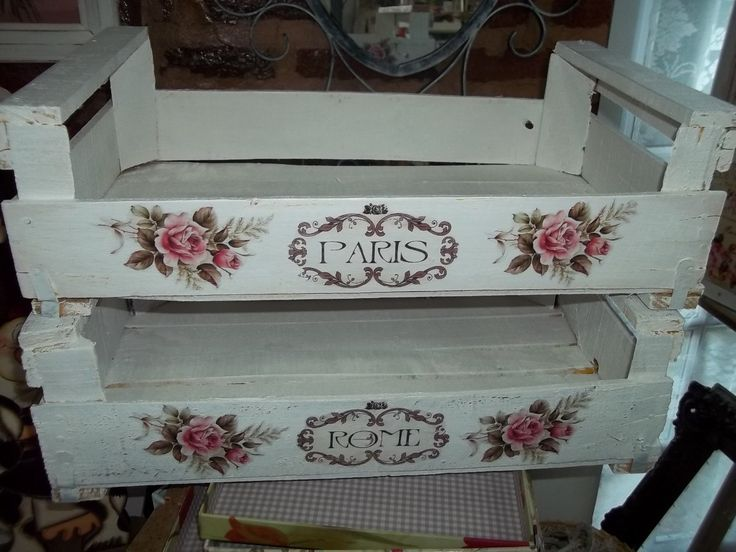 Cajones de verduras ideas deco pinterest search and - Decoracion estilo shabby chic ...