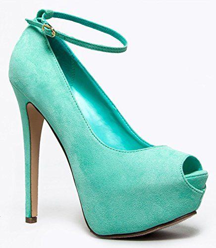 Breckelles Women's JUDY-21S High Heel Ankle Strap Peep Toe Platform Stiletto Pumps,8 B(M) US,Sea Foam Green-21s Breckelles http://www.amazon.com/dp/B00I9KBM32/ref=cm_sw_r_pi_dp_n8r-tb0F616X5