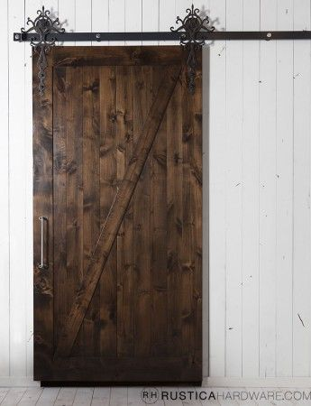 Made to order barn door....for the new house!  rusticahardware.com