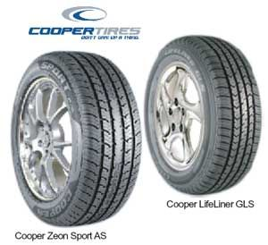 Cooper Tire Life's A Road Trip Sweepstakes WINa new set of four Cooper Tires -Value $800 Ends 11/30