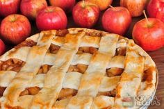 Receita de American pie (torta de maçã) em receitas de tortas doces, veja essa e outras receitas aqui!