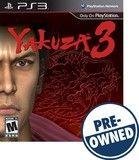 Yakuza 3 — PRE-Owned - PlayStation 3