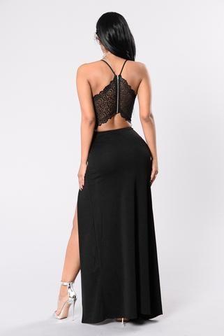 Fashion Affair Dress - Black
