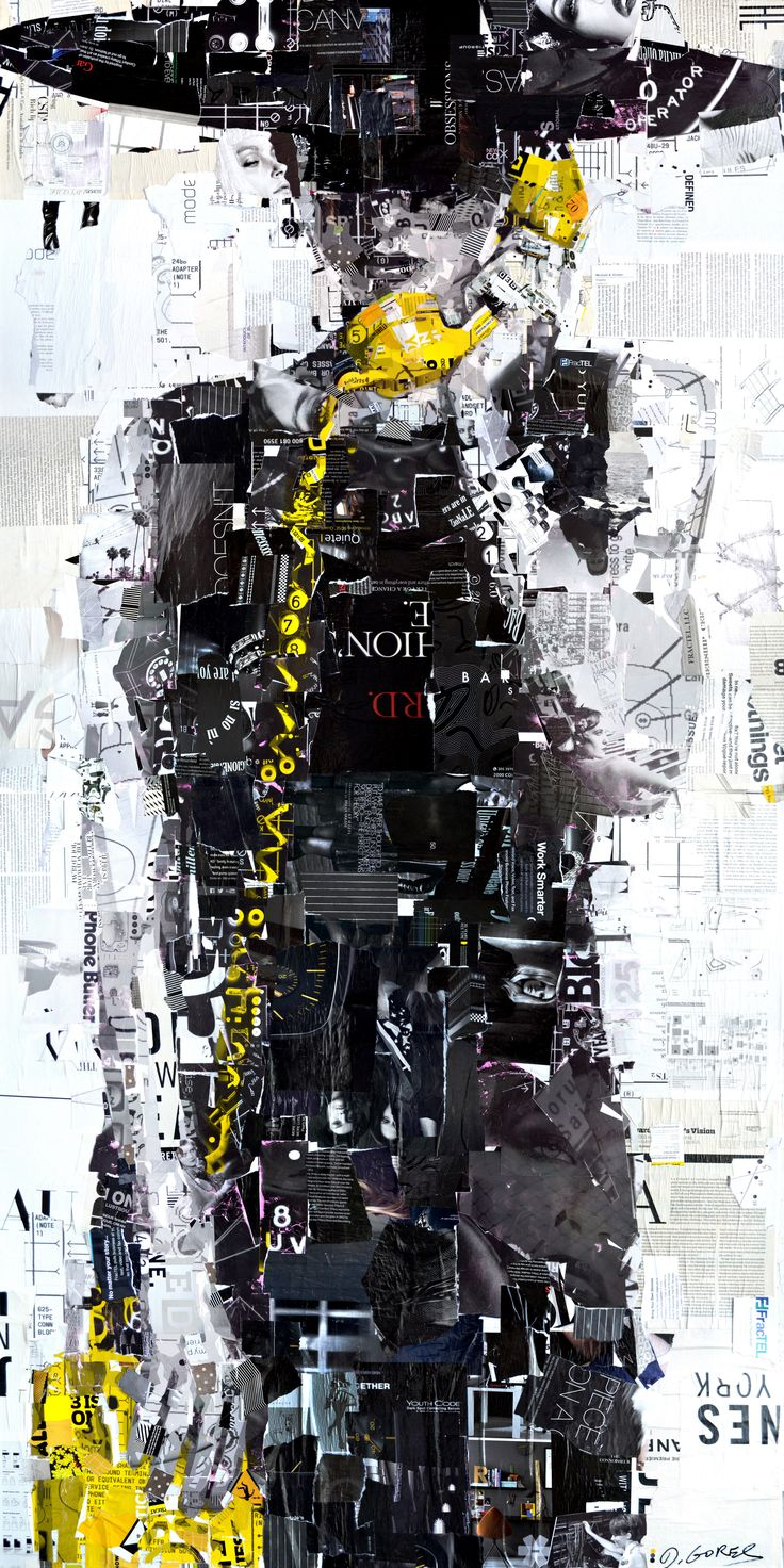Derek Gores - done to draw the eye to the phone, i could maybe replicate this to draw the eye to a certain feature. The black and white works very well