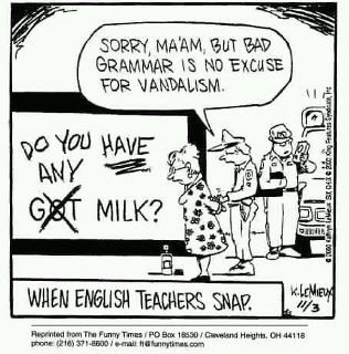 English teachers are sadly undervalued.