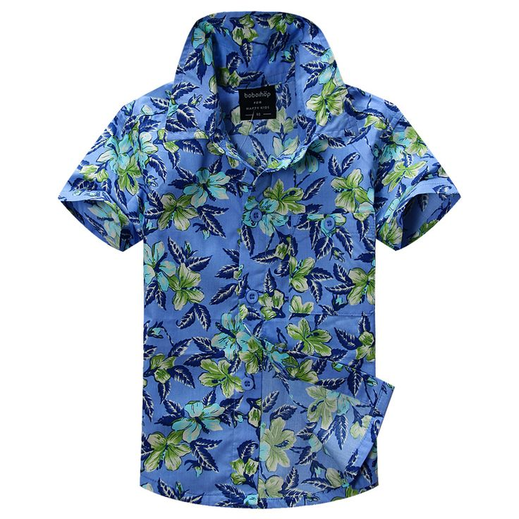 >> Click to Buy << new arrival  cotton 100% floral shirt hawaiian shirt aloha shirt for boy T1512 #Affiliate